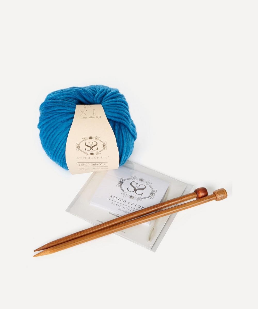 Freya Fingerless Gloves Knitting Kit