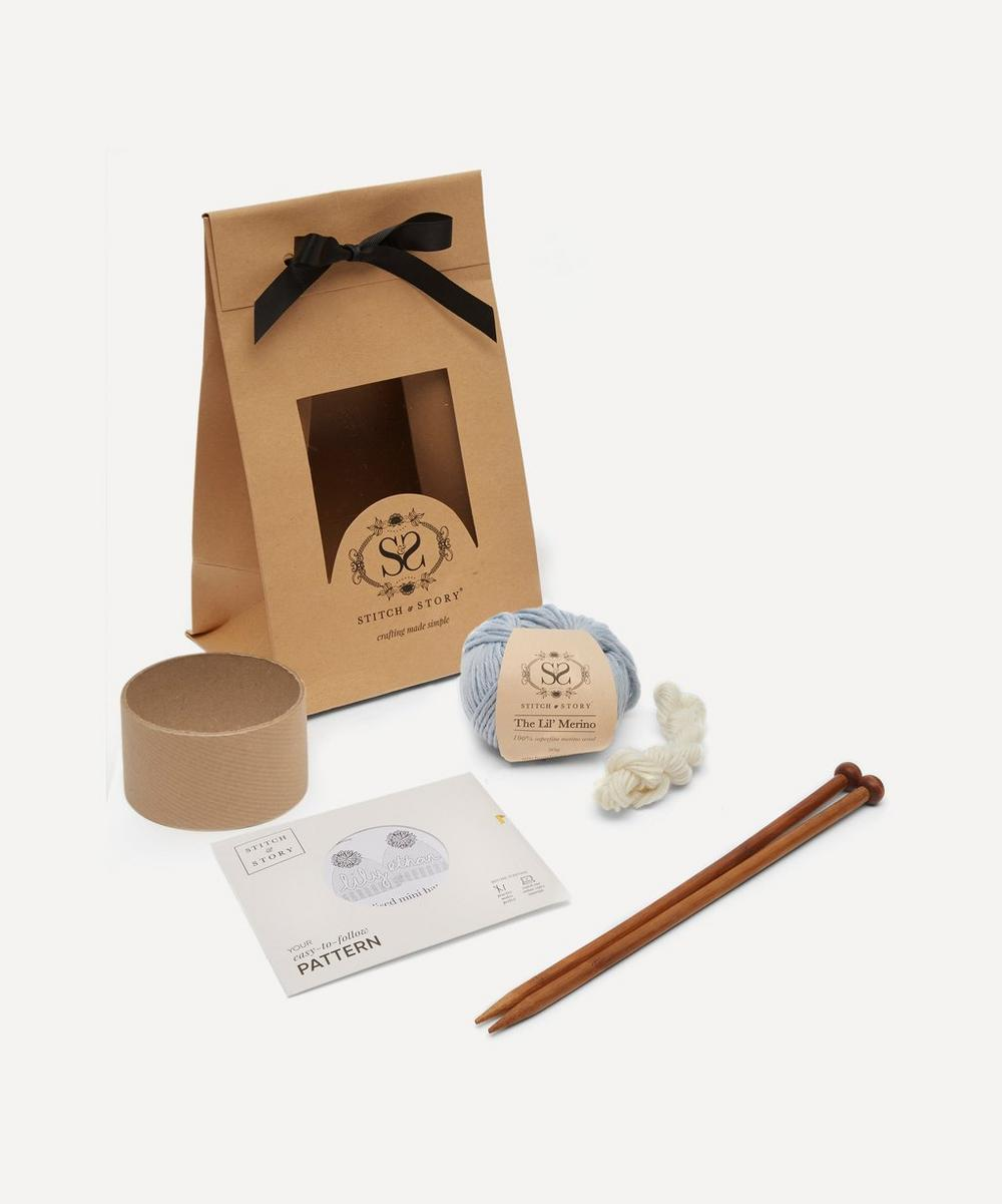 Personalised Mini Hat Knitting Kit
