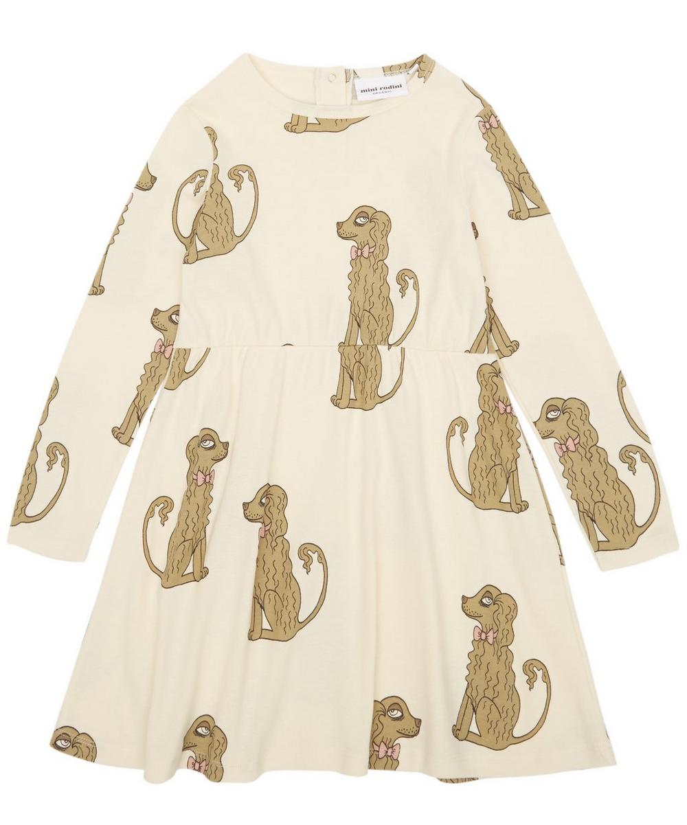 Spaniel Long Sleeve Dress 12 Months-10 Years