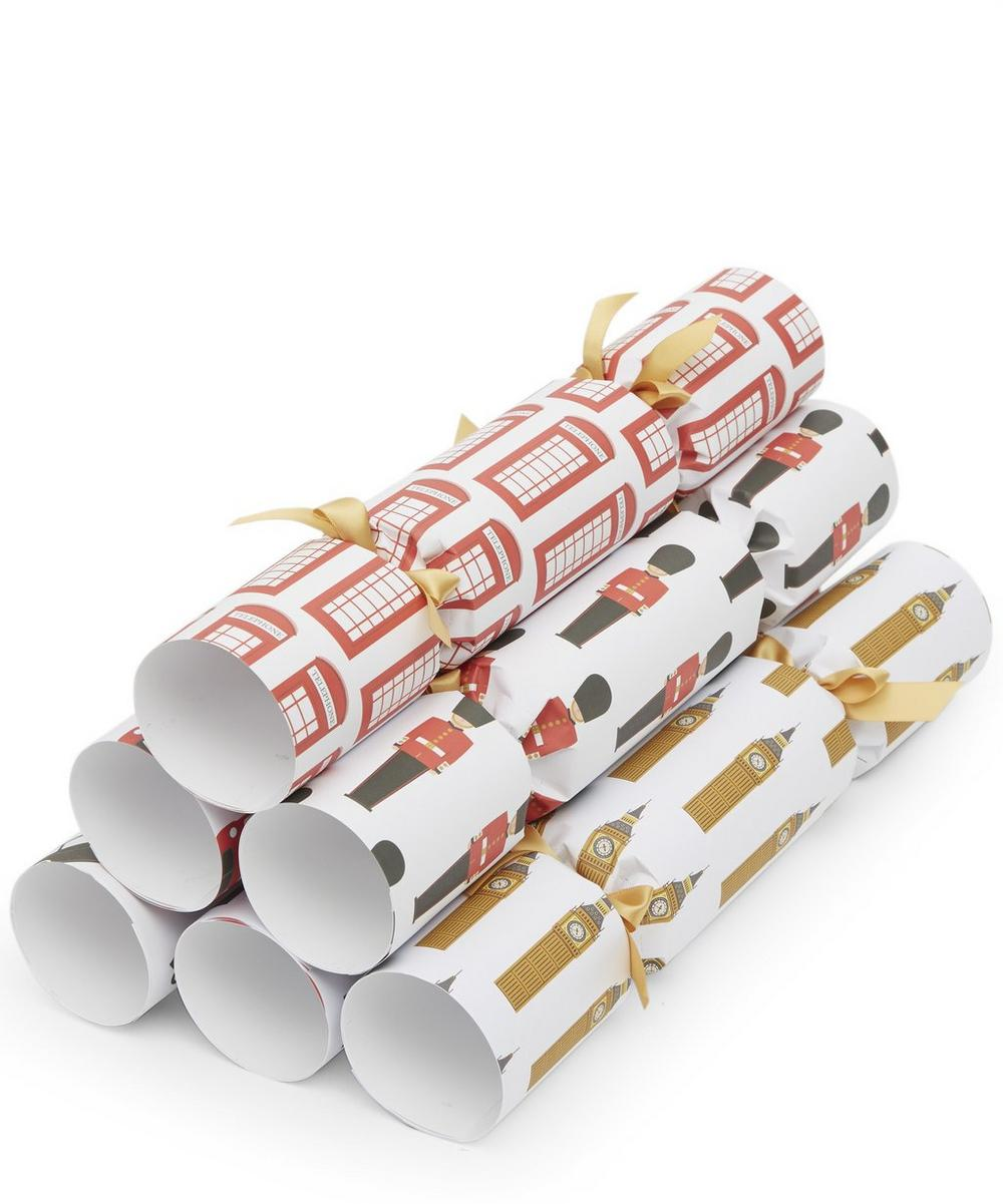 London Christmas Crackers Set of 6
