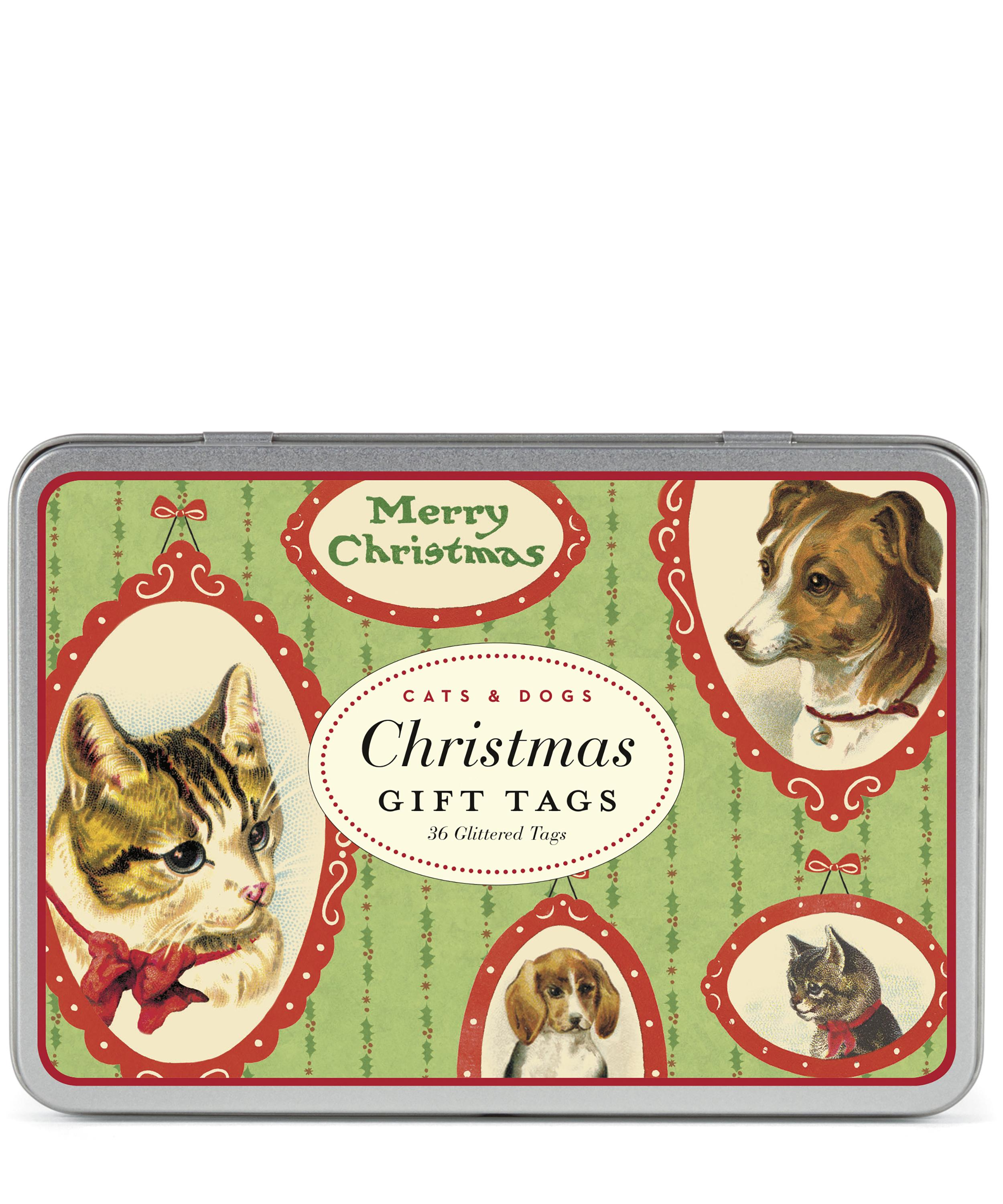 Cats And Dogs Gift Tags Liberty London