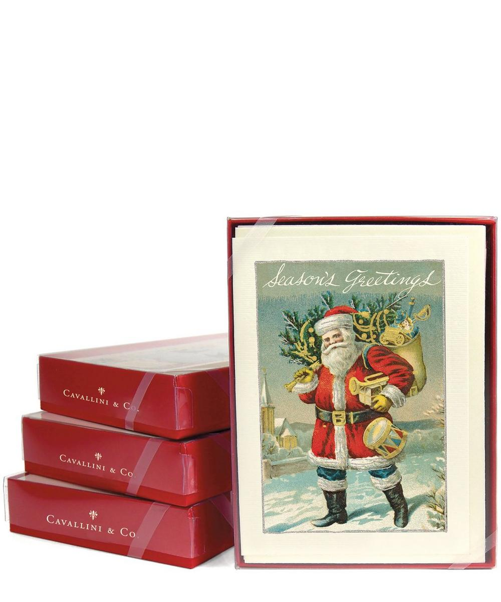 Santa Claus Box of Greeting Cards