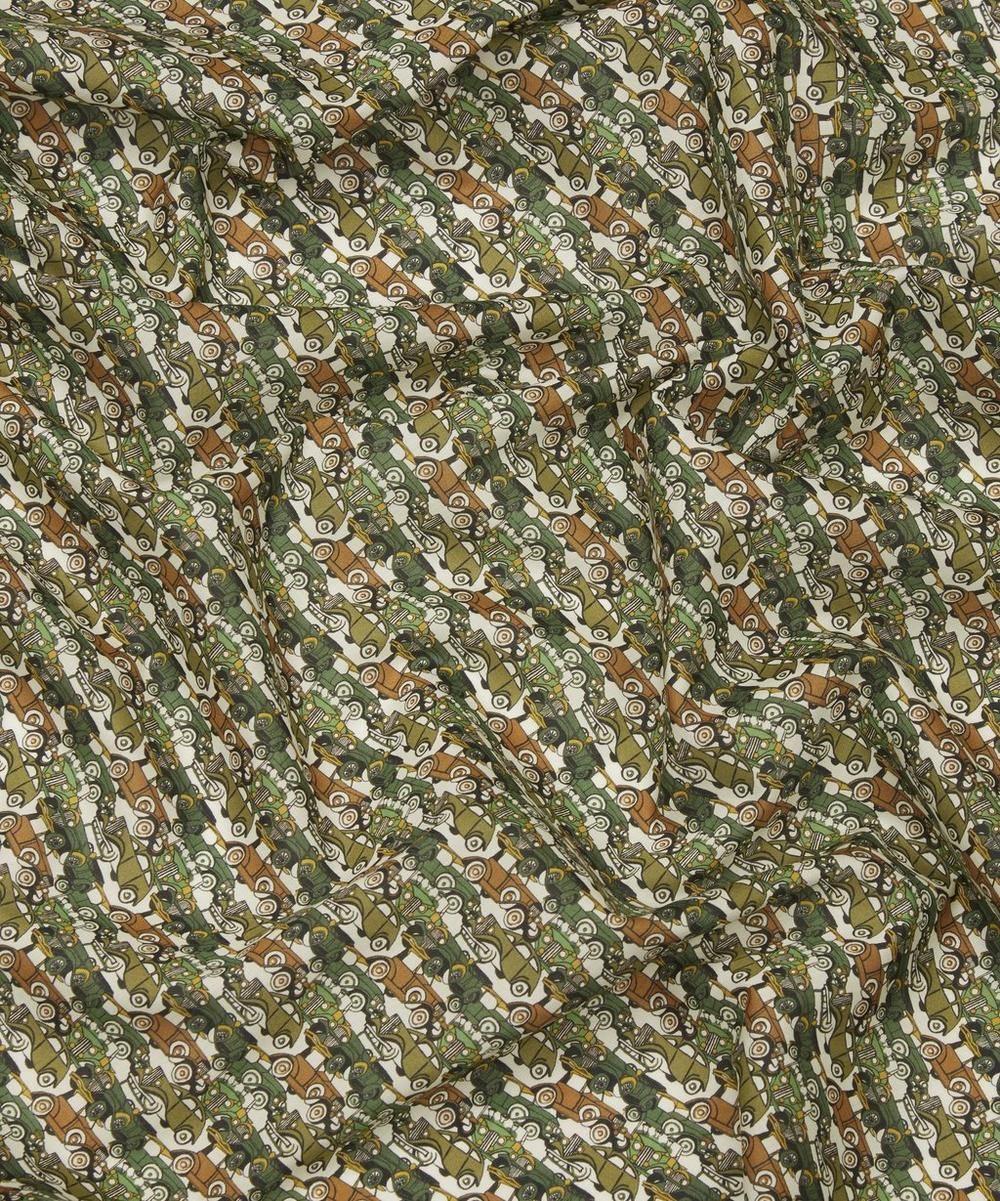 Roaring Wheels Tana Lawn Cotton