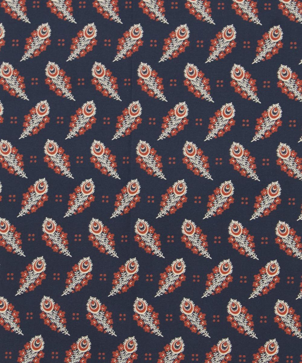 Paisley Feather Poplin