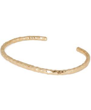 Gold Vermeil Carved Hungry Snake Bracelet