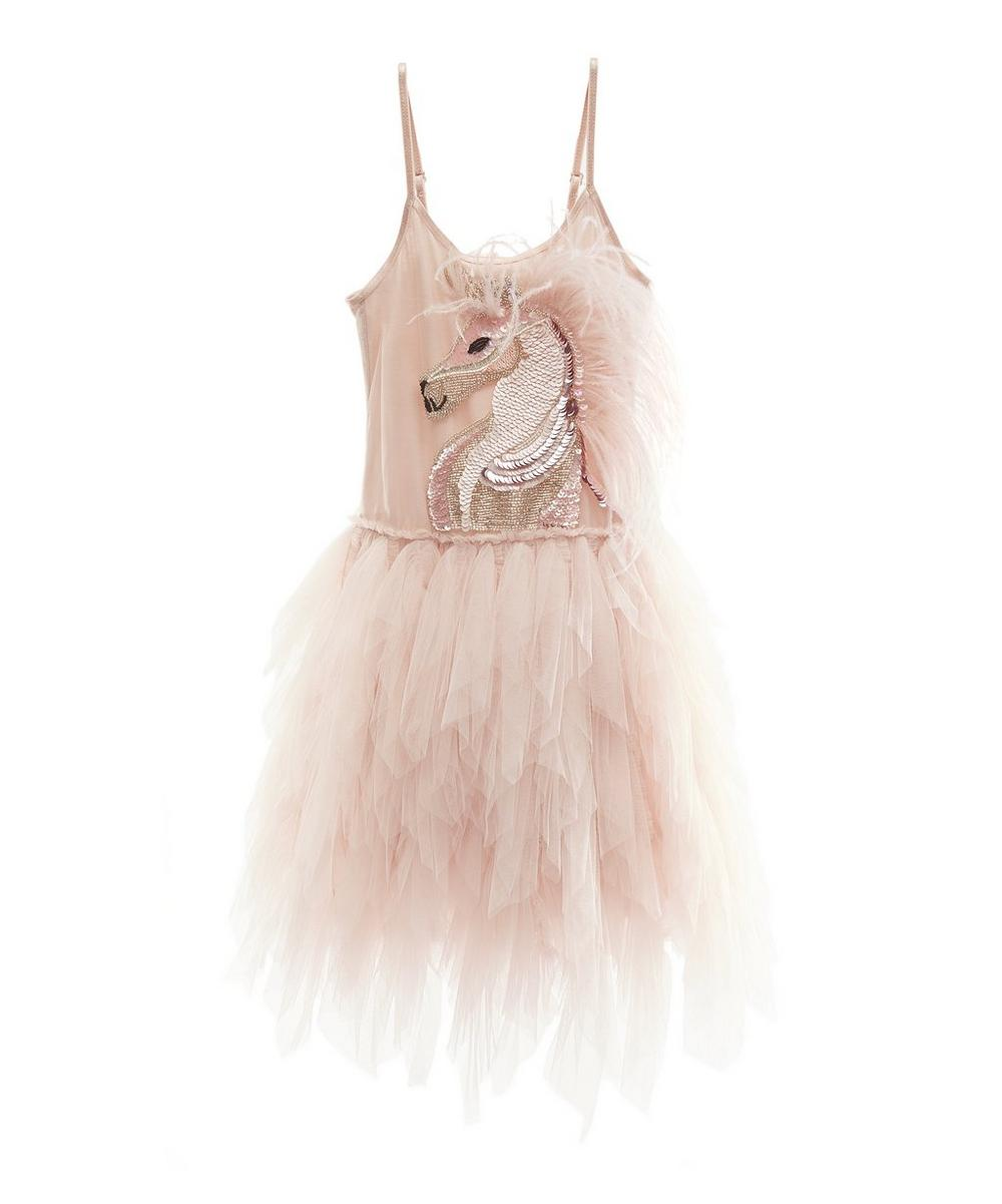 MYSTICAL UNICORN TUTU BABY DRESS 1-2 YEARS