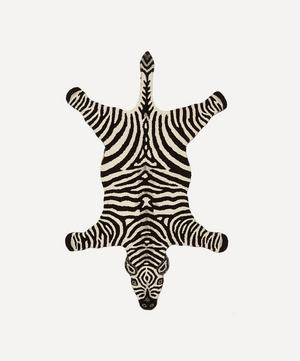 Large Chubby Zebra Rug