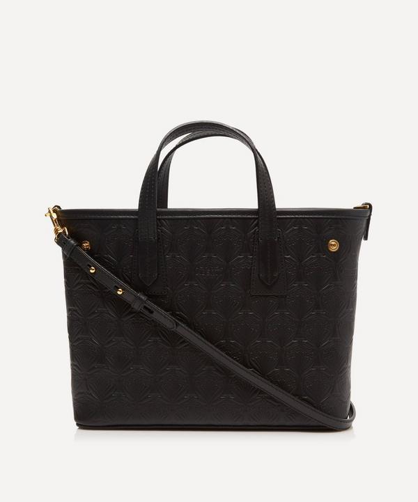 23c0ae2c4429 Mini Marlborough Cross-Body Tote Bag in Embossed Leather ...