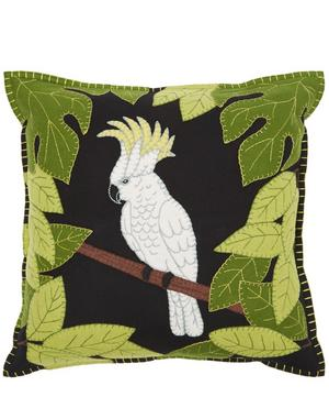 Appliqué Cockatoo Cushion