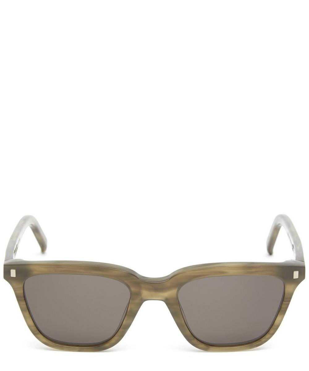 MONOKEL Robotnik Square Sunglasses in Green