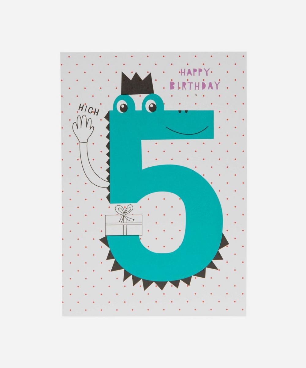 Happy Birthday Age 5 Card