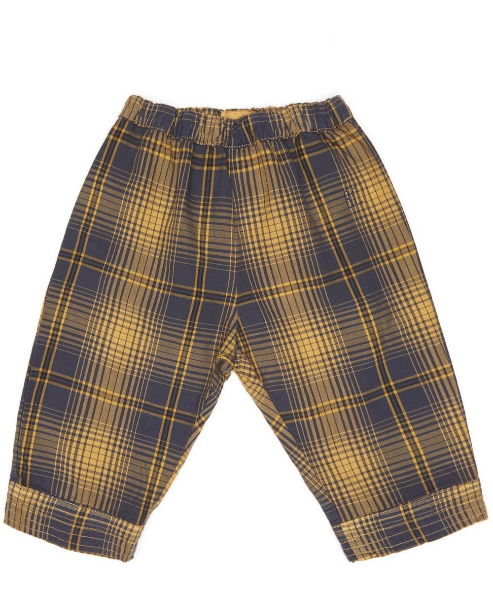 Tartan Straight Trousers 3-24 Months