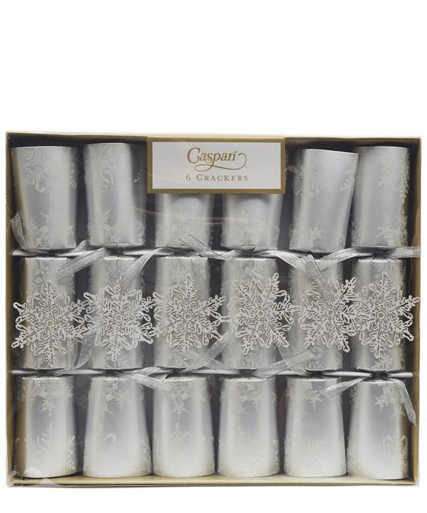 Falling Snow Crackers Box of 6