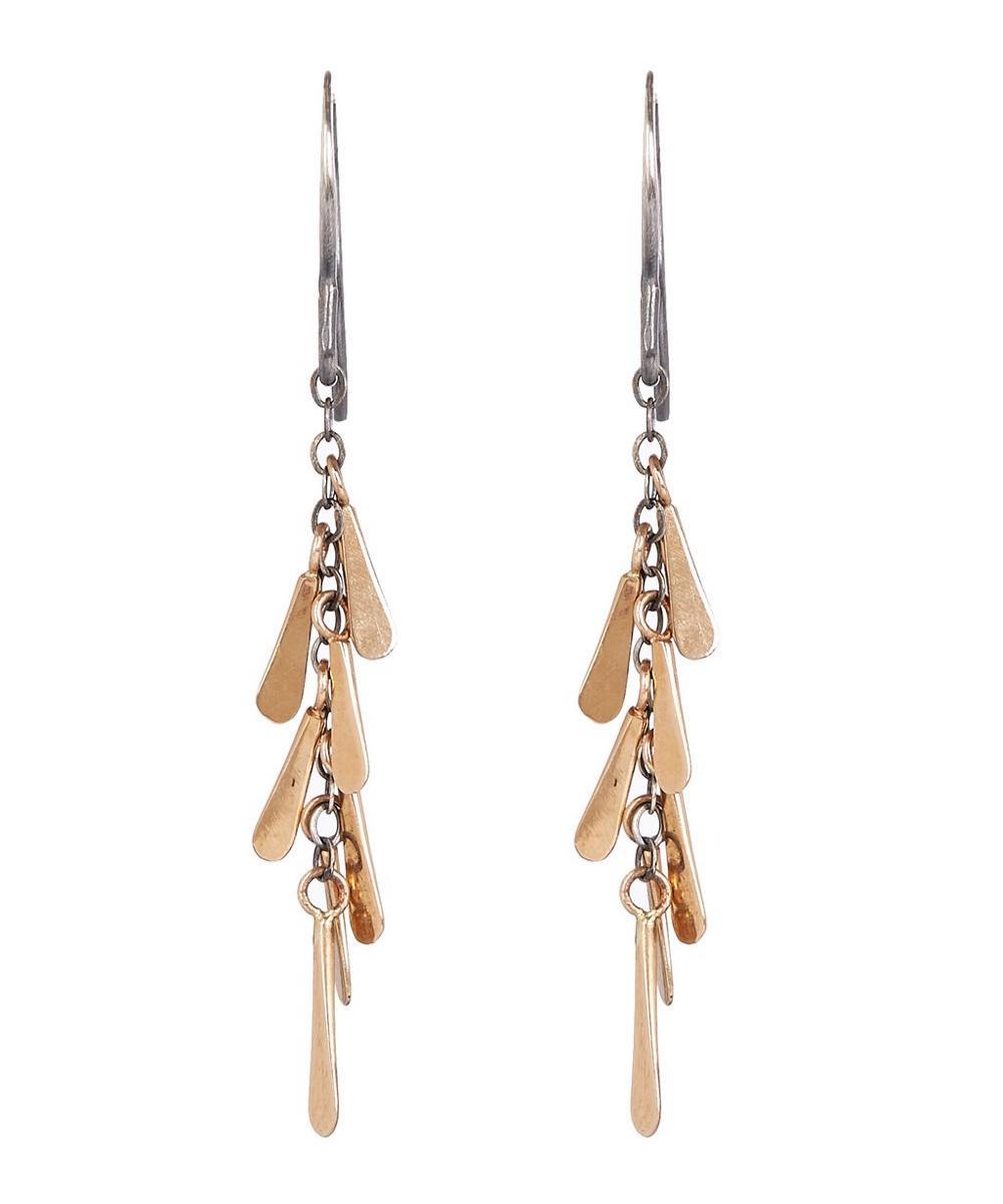 Seed Tassel Drop Earrings