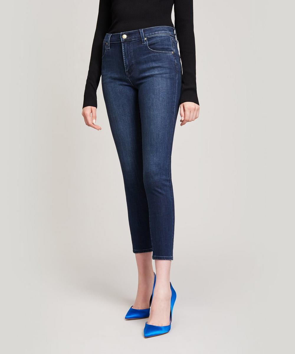 Alana High Rise Crop Jeans