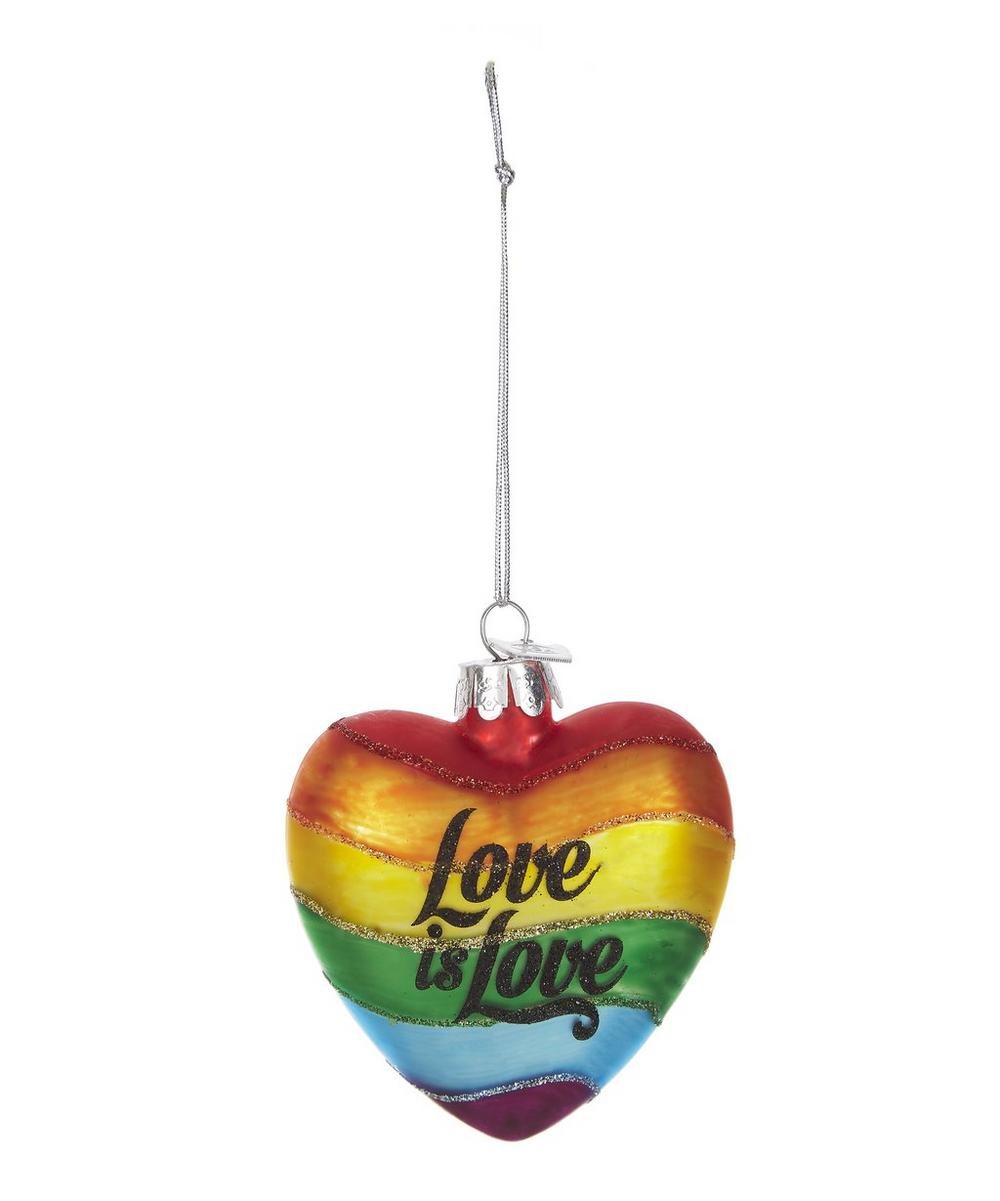 Glass Love is Love Decoration