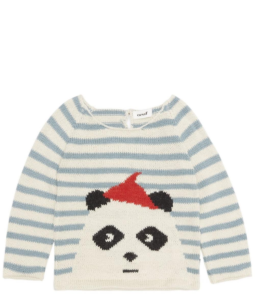 2dd0b0dfd Oeuf NYC Panda Sweater 3-8 Years | Liberty London