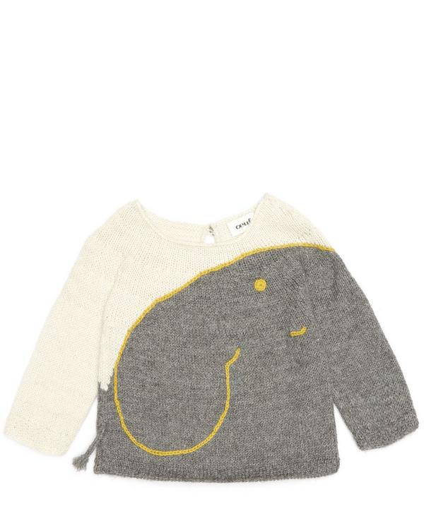 Elephant Sweater 3-6 Years