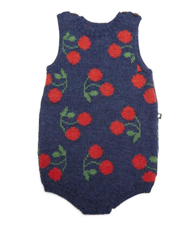 Cherry Tank Romper 3-18 Months