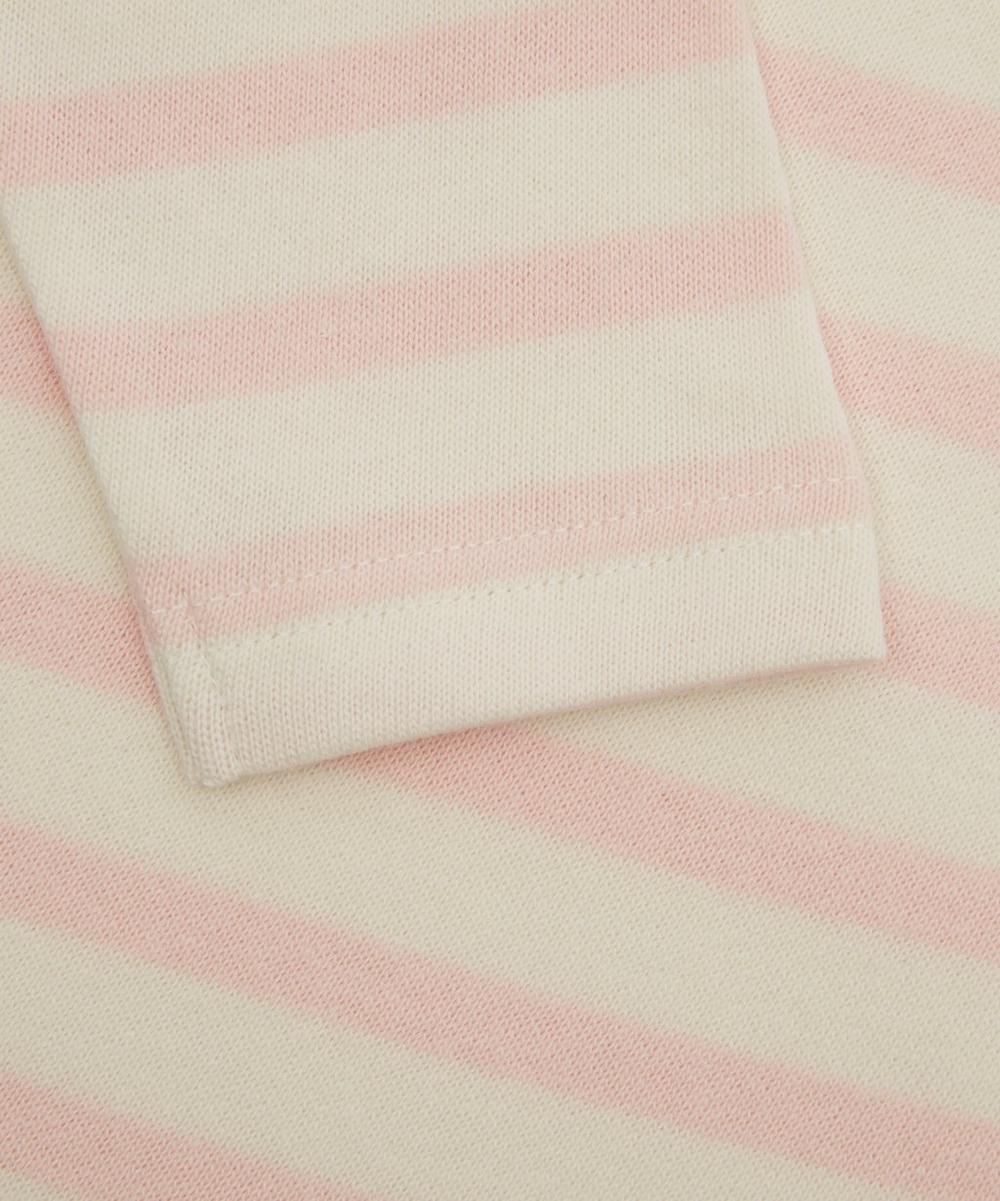 Flying Balloon Sailor Stripe Long Sleeve T-Shirt 2-8 Years