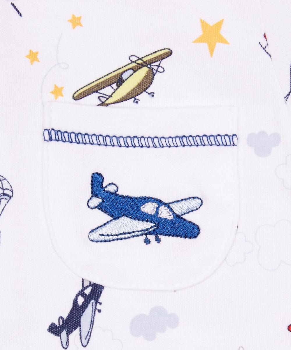 Aviators Print Short Playsuit 0-18 Months
