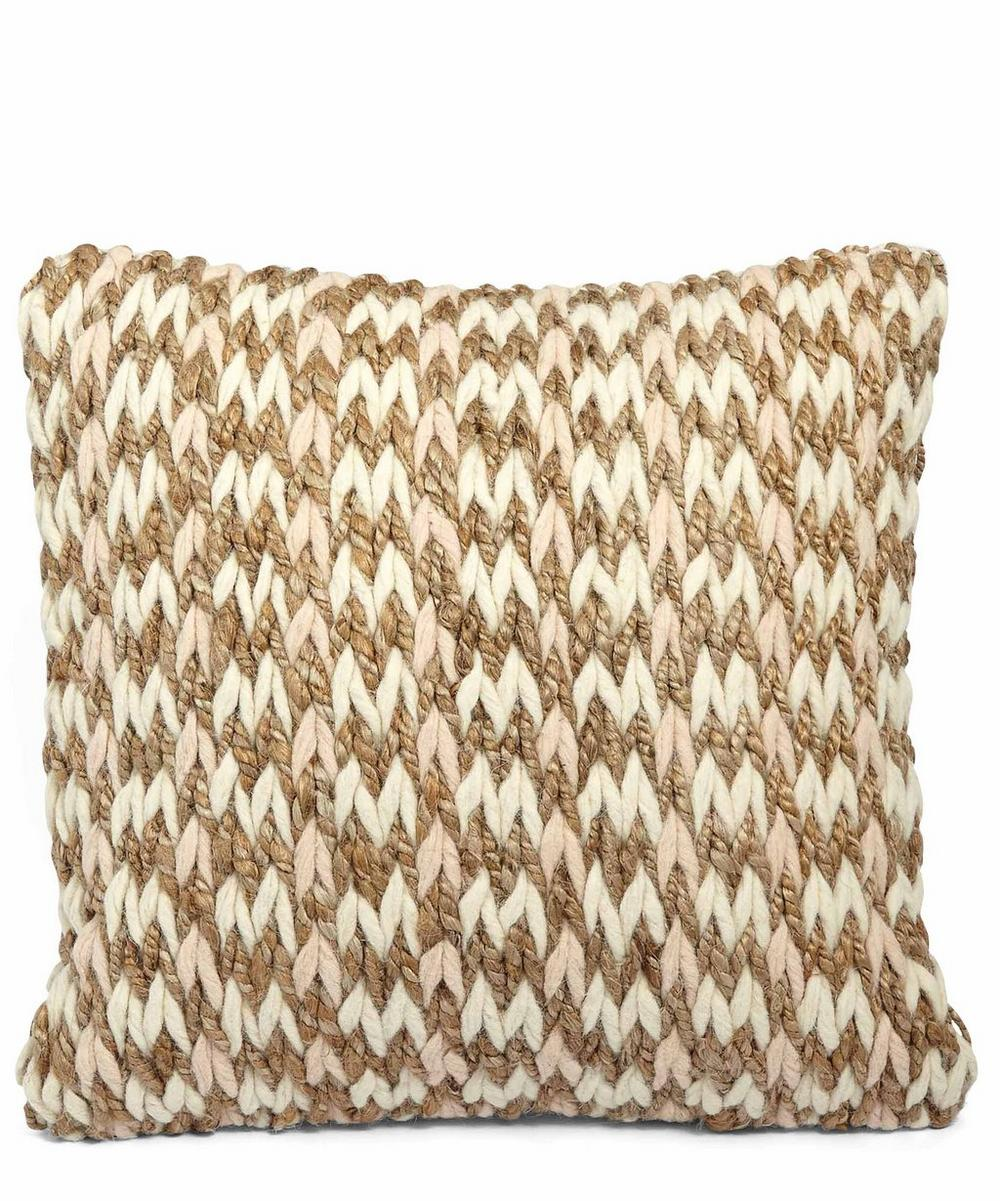 Grove Knitted Cushion