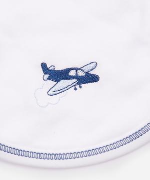 Aviators Print Reversible Bib