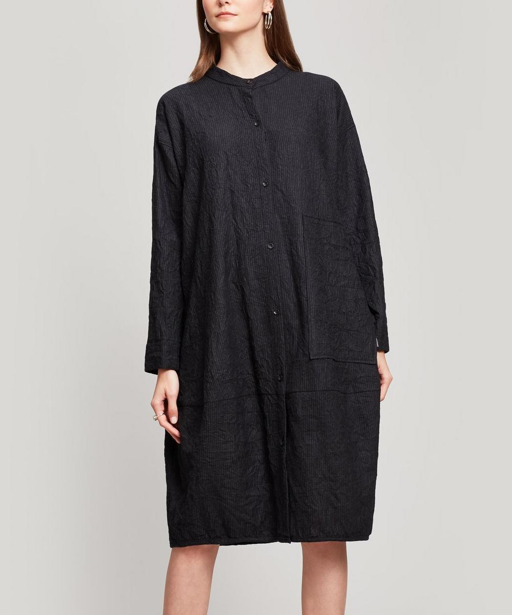 Crushed Wool Dress