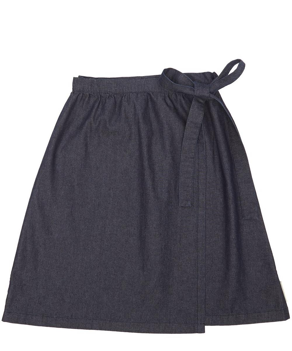 DENIM CROSS SKIRT 2-8 YEARS