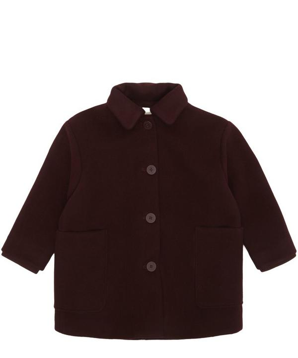 Burgundy Woolen Coat 2-8 Years