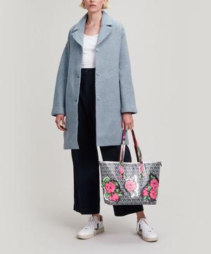 Richard Quinn Carline Iphis Little Marlborough Tote Bag