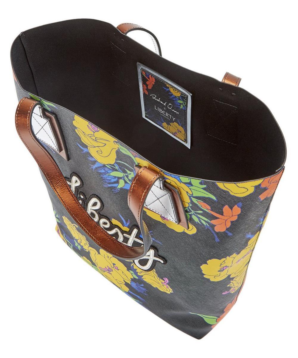 Richard Quinn Phlox Merton Tote Bag