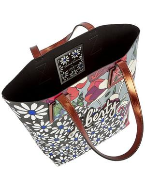 Richard Quinn Daisy Tulip Merton Tote Bag