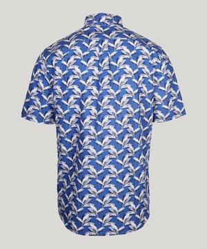 Paradise Palm Poplin Short Sleeve Men's Shirt