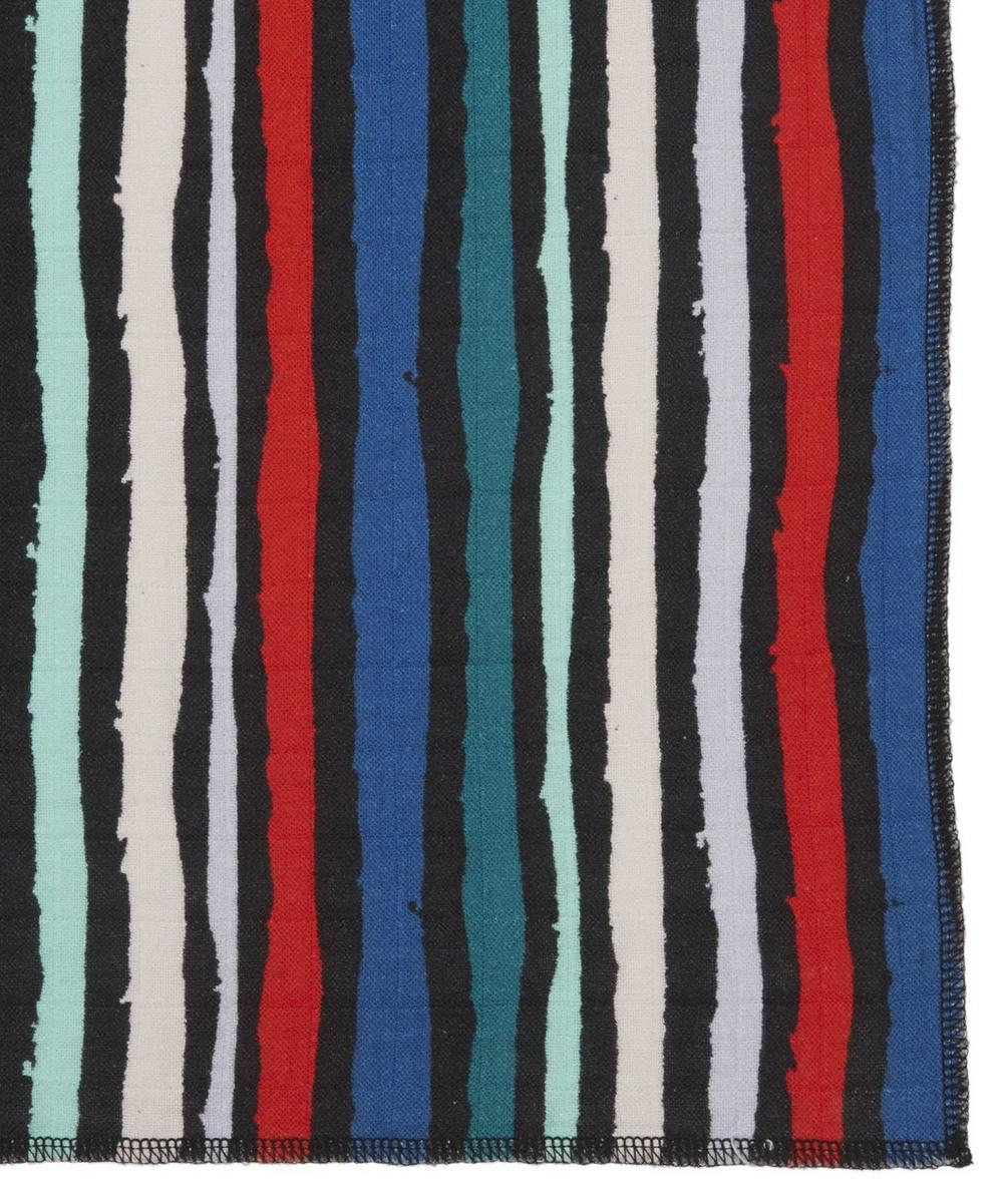 Winter Stripe Large Swaddle