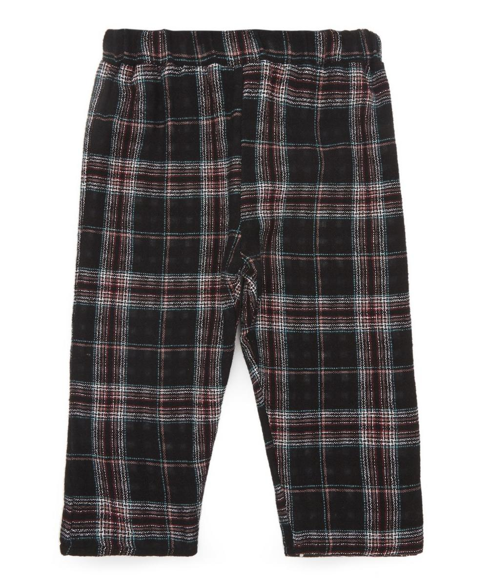 Winter Check Trousers 0-24 Months