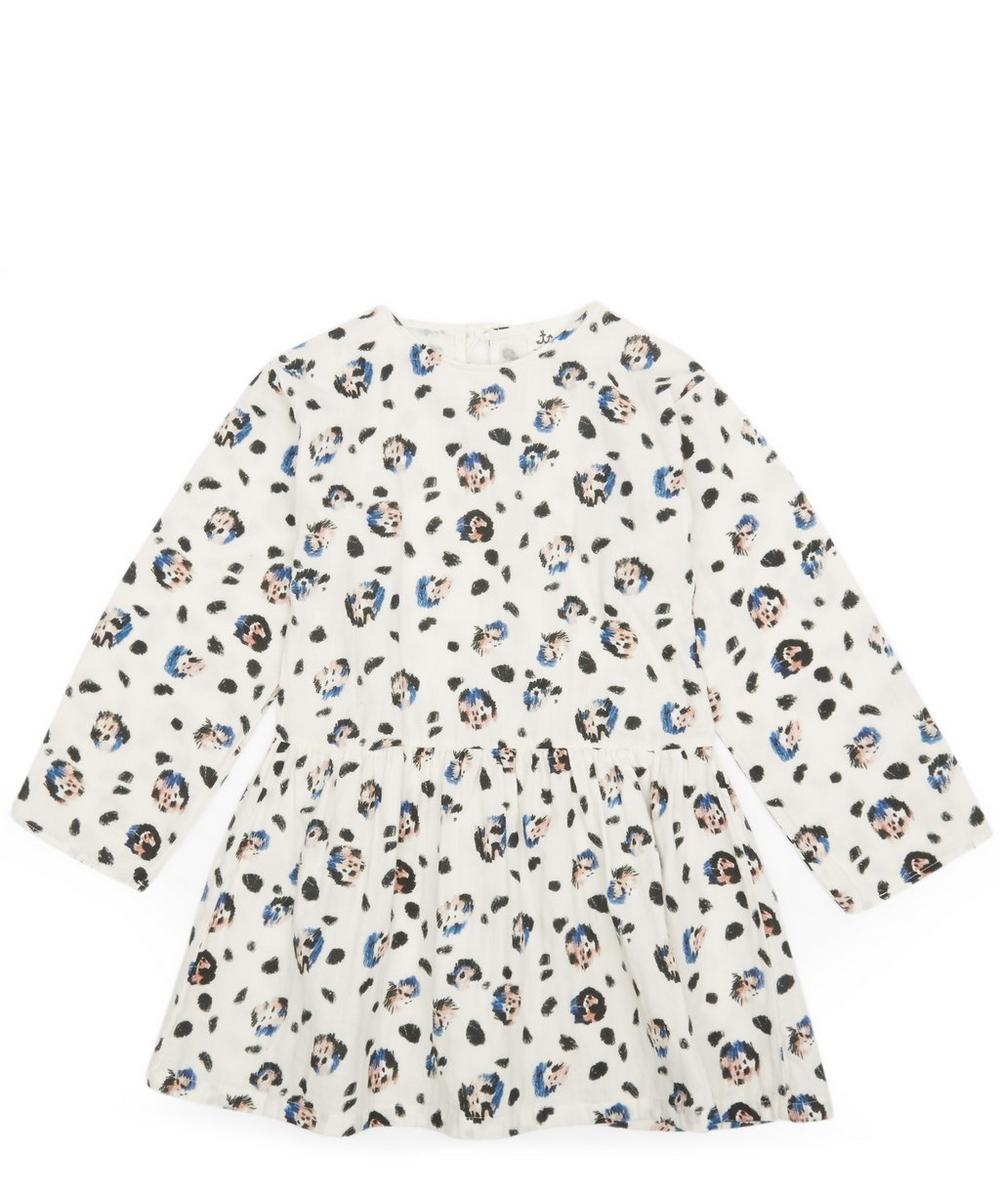 Winter Snow Leopard Dress 2-8 Years