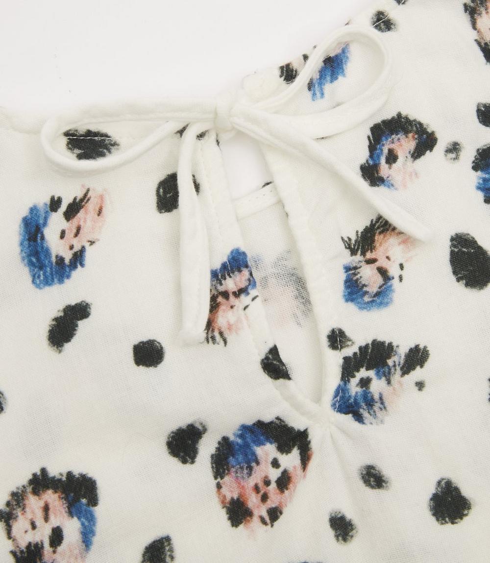 Winter Snow Leopard Dress 2-8 Years