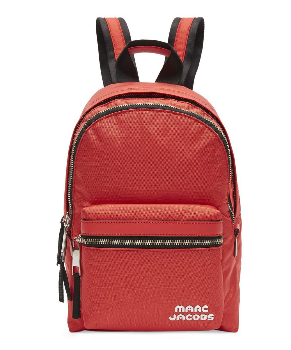 Medium Trek Nylon Backpack - Red