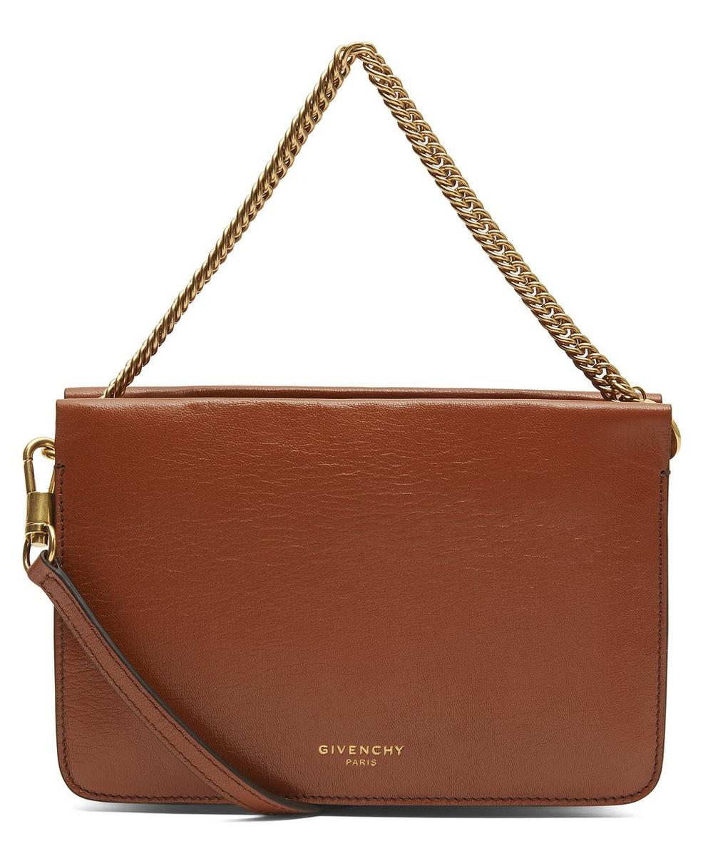 CROSS3 LEATHER AND SUEDE CROSS-BODY BAG