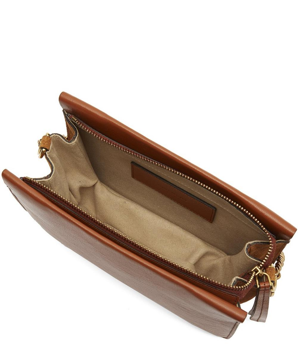 689e2ce71f Cross3 Leather and Suede Cross-Body Bag