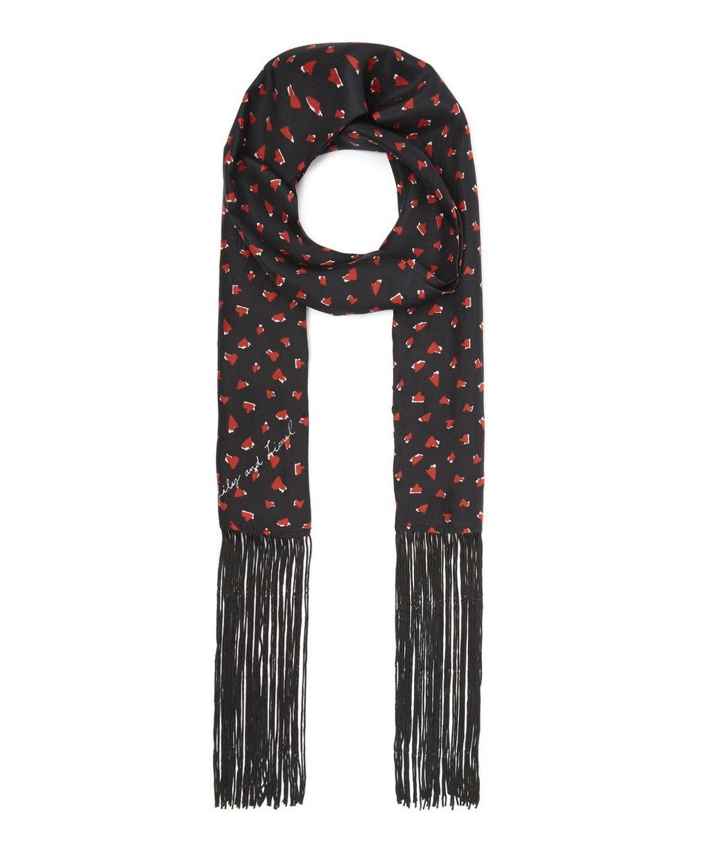 LILY AND LIONEL GIRL CRUSH SKINNY SCARF