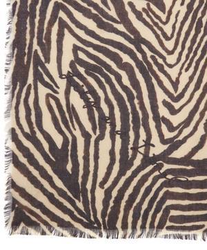 Zebra Silk Scarf