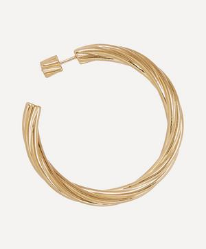 Gold-Plated Arsiia Hoop 45 Earring