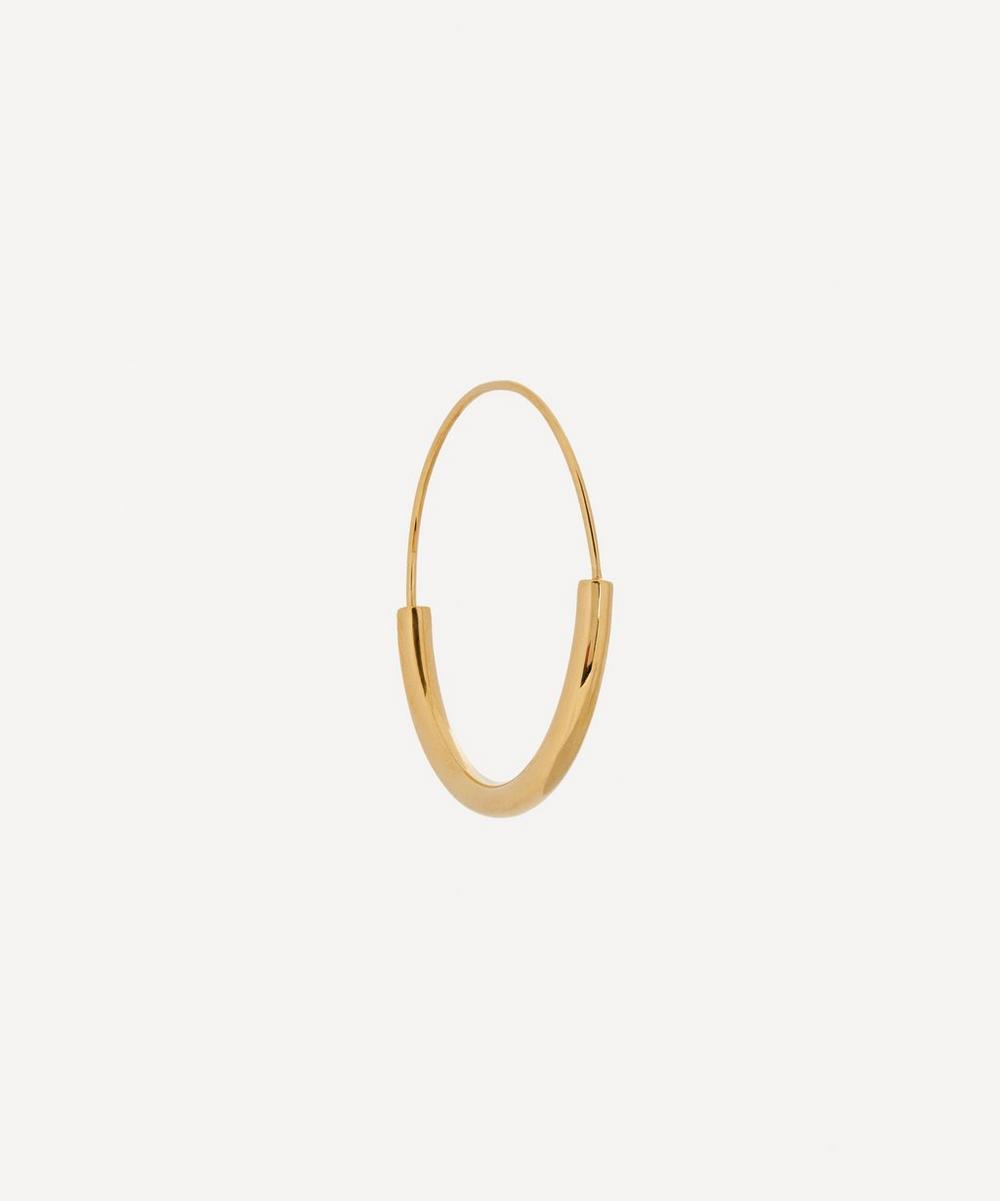 Maria Black - Gold-Plated Serendipity 30 Single Hoop Earring