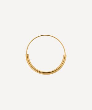 Gold-Plated Serendipity Medium Hoop Earring