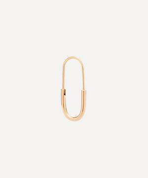 Gold-Plated Chance Mini Earring