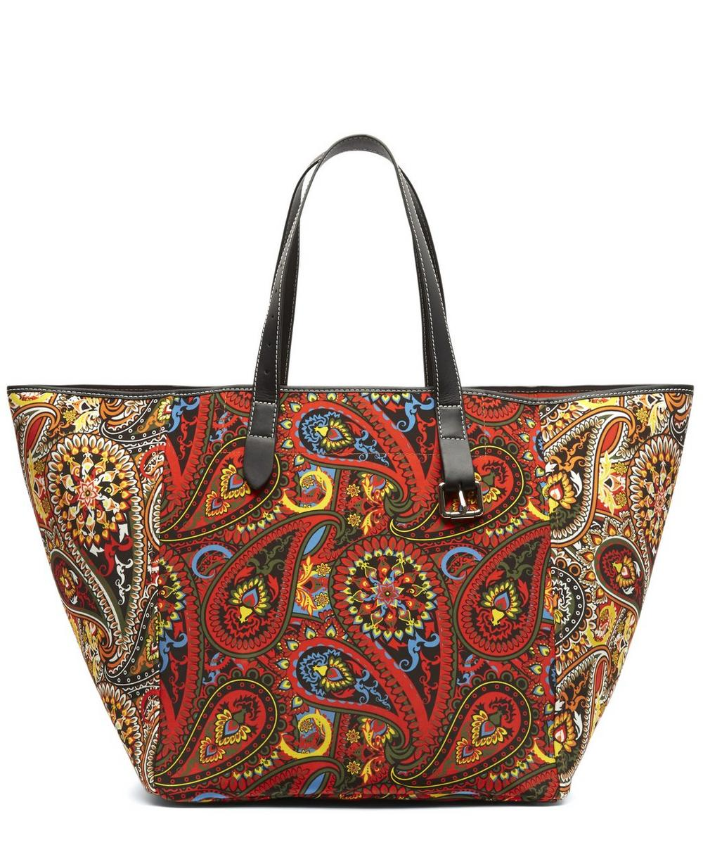 J.W. Anderson Paisley Belted Tote Bag.