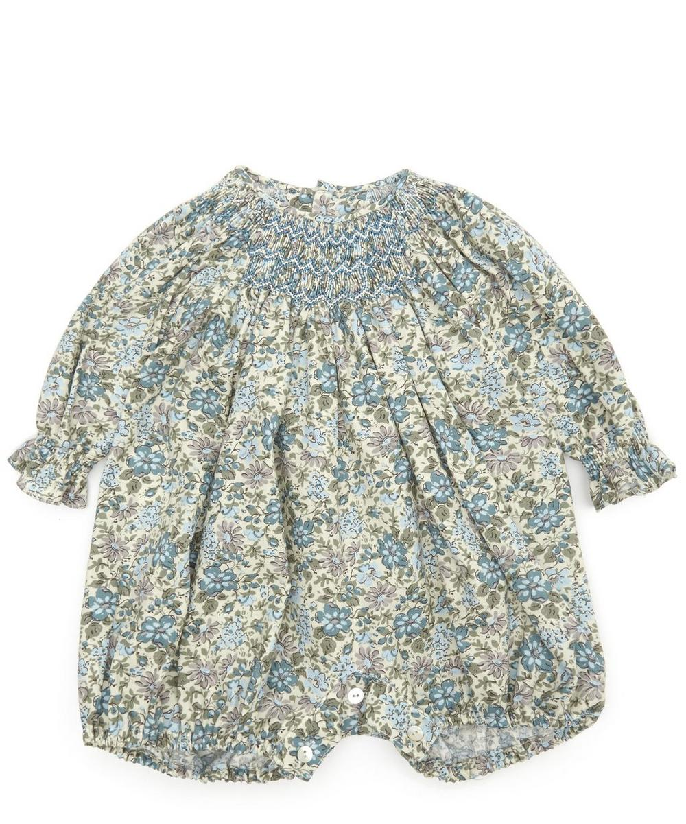 COVENA FLORAL ROMPER 3 MONTHS-2 YEARS