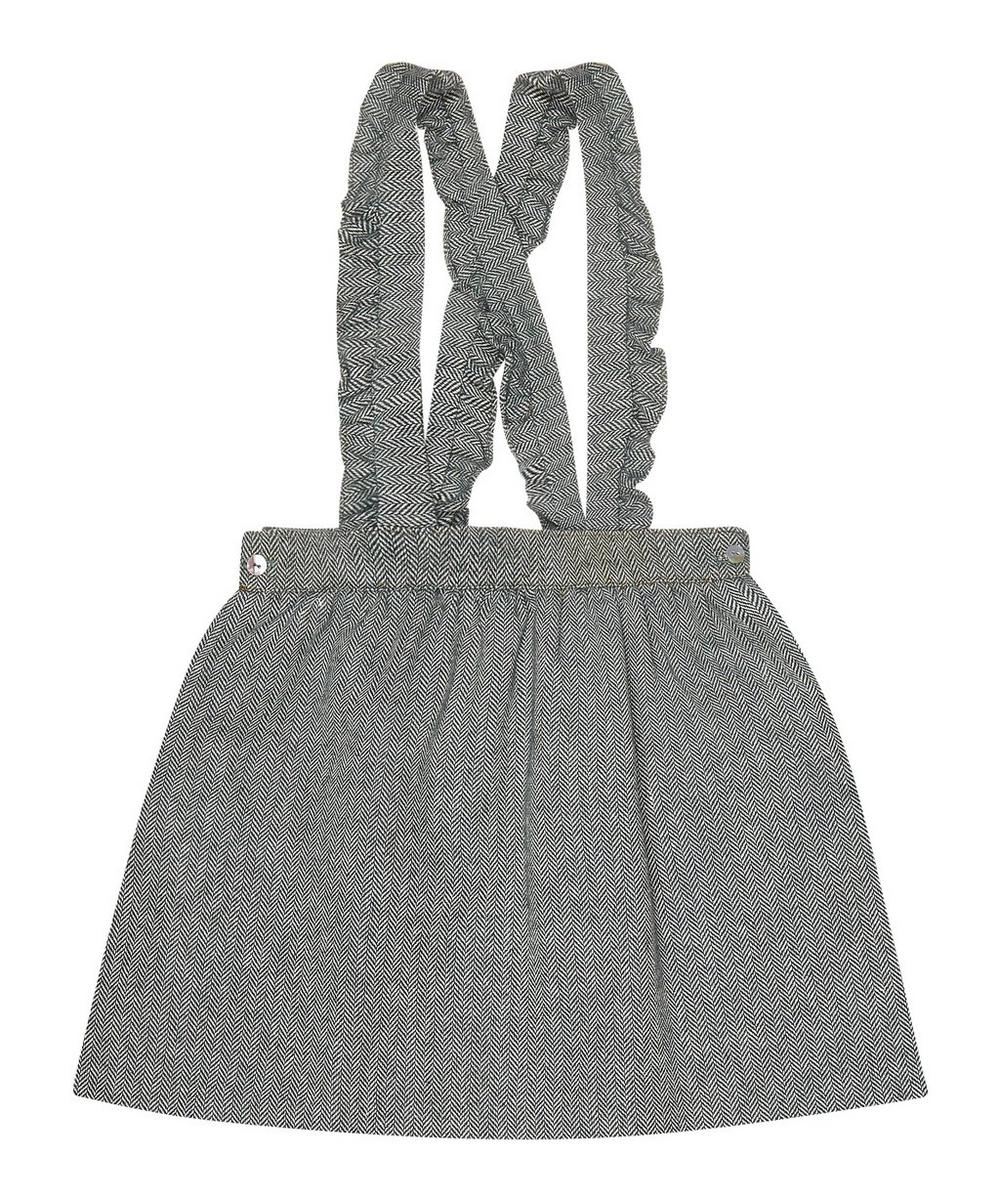 DIOMAR HERRINGBONE SKIRT 2-8 YEARS